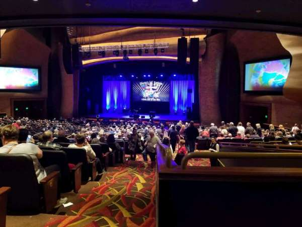 The Grand Theater at Foxwoods, section: PRTCTR, rangée: KK, siège: 140