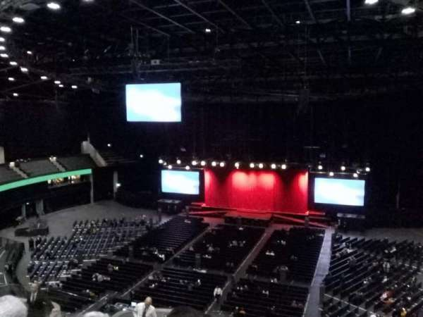 The SSE Hydro, section: 232, rangée: T, siège: 246