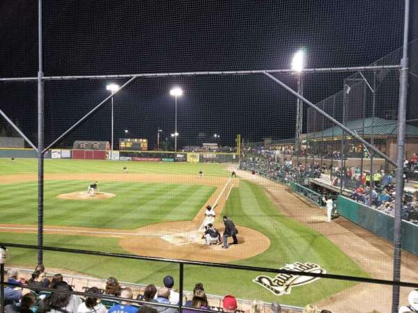 Rawhide Ballpark, section: 206, rangée: G, siège: 2