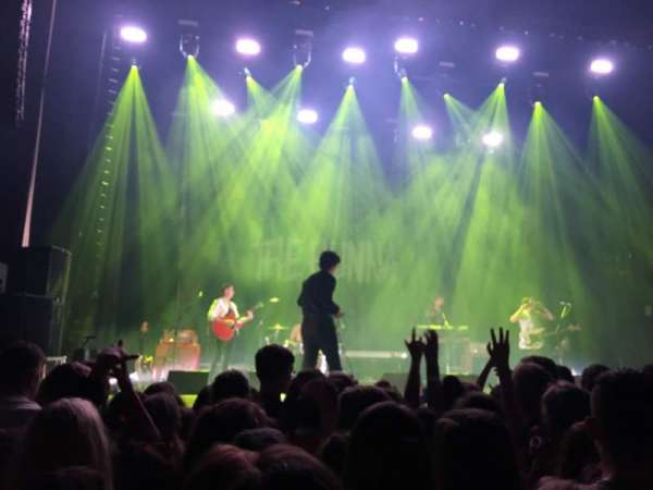 O2 Apollo Manchester, section: Standing