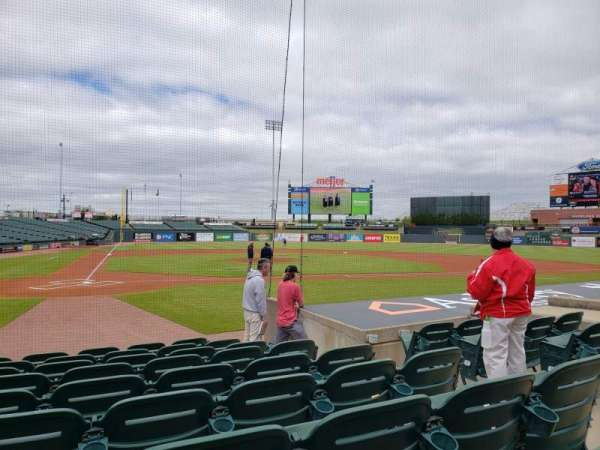 Louisville Slugger Field, section: 112, rangée: J, siège: 5
