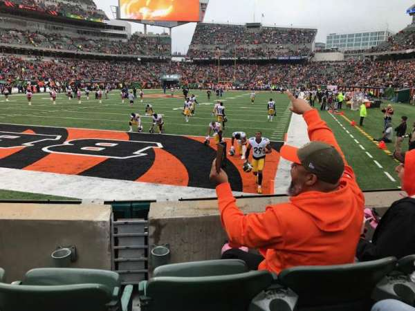Paul Brown Stadium, section: 150, rangée: 3, siège: 7-8