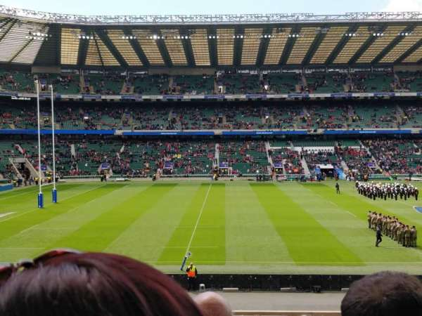 Twickenham Stadium, section: L27, rangée: 33, siège: 262