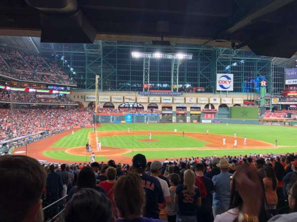 Minute Maid Park, section: 122, rangée: 38, siège: 19