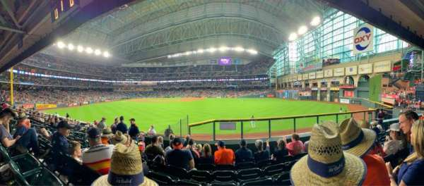 Minute Maid Park, section: 155, rangée: 14, siège: 10