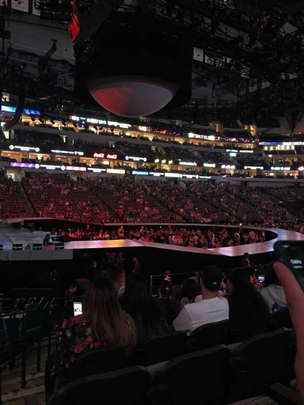 American Airlines Center, section: 121, rangée: N, siège: 15