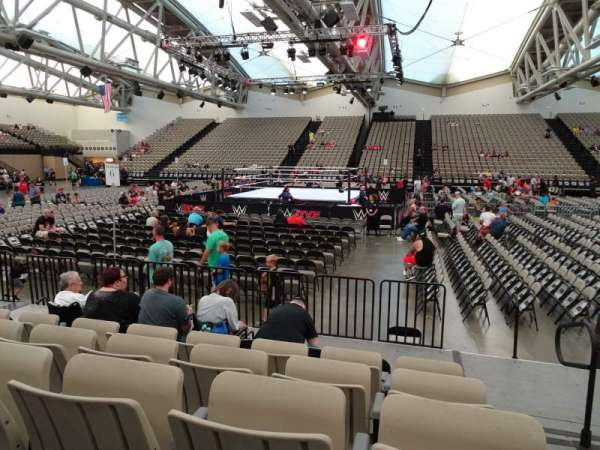 Oceanfront Arena at Wildwoods Convention Center, section: A3, rangée: F, siège: 34-35