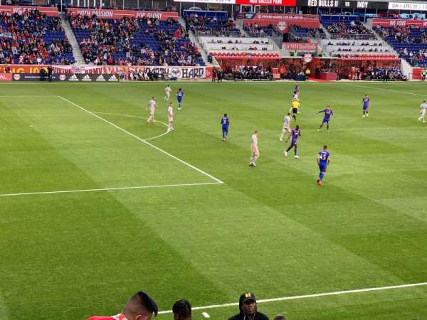 Red Bull Arena (New Jersey), section: 129, rangée: 14, siège: 9