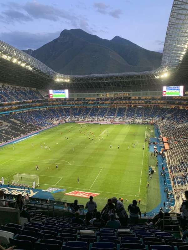 Estadio BBVA, section: 223, rangée: L, siège: 6