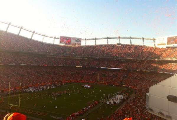 Empower Field at Mile High Stadium, section: 228, rangée: 22