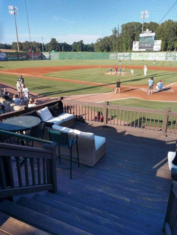 The Ballpark at Jackson, section: Party Deck