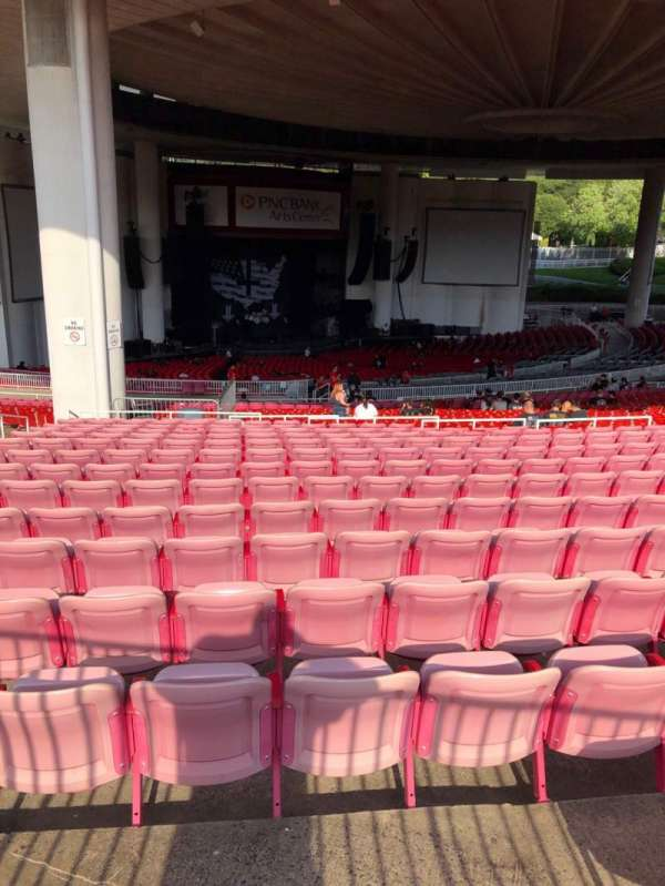 PNC Bank Arts Center, section: Reserved Lawn