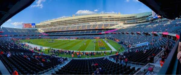 Soldier Field, section: 232, rangée: 1