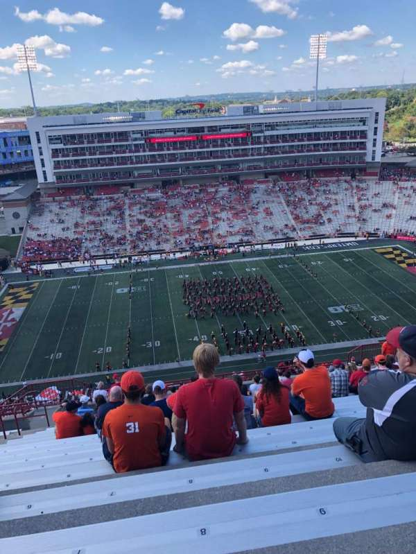 Maryland Stadium, section: 305, rangée: Y, siège: 8