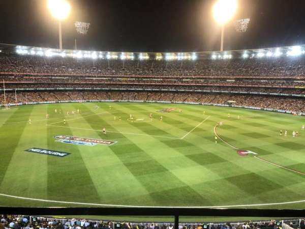 Melbourne Cricket Ground, section: P42