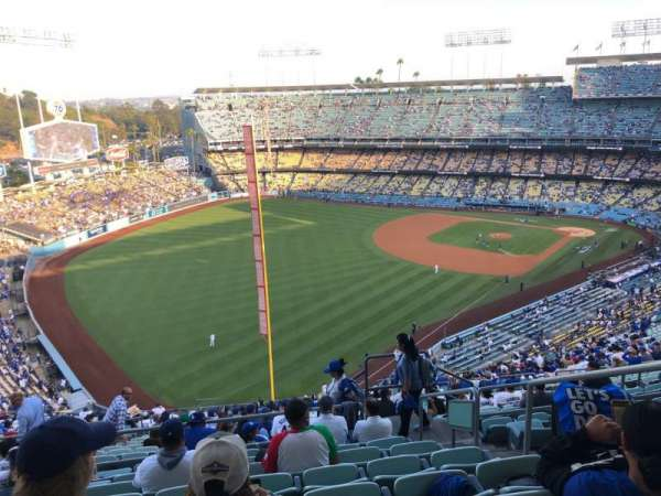 Dodger Stadium, section: 53RS, rangée: HH, siège: 4