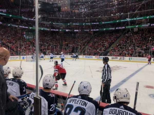 Prudential Center, section: 19, rangée: 3