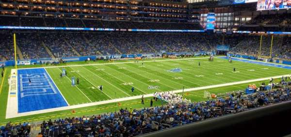 Ford Field, section: 226, rangée: 1, siège: 24
