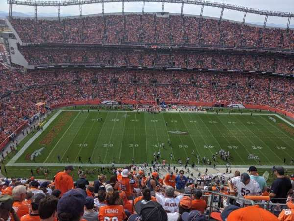 Empower Field at Mile High Stadium, section: 536, rangée: 18, siège: 4