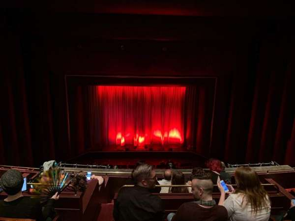 Brown Theater at the Wortham Center, section: Grand Tier, rangée: F, siège: A6