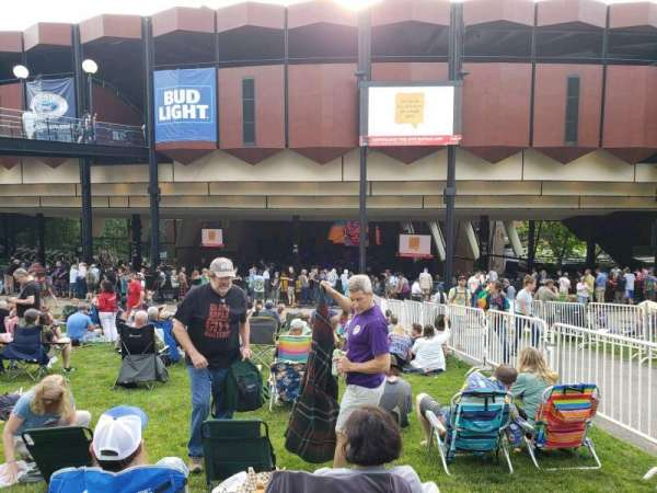 Saratoga Performing Arts Center, section: Lawn