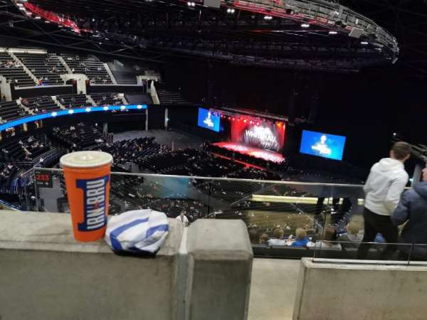 The SSE Hydro, section: 333, rangée: Y, siège: 285