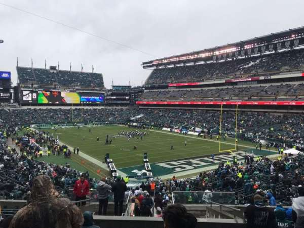 Lincoln Financial Field, section: 108, rangée: 43, siège: 16