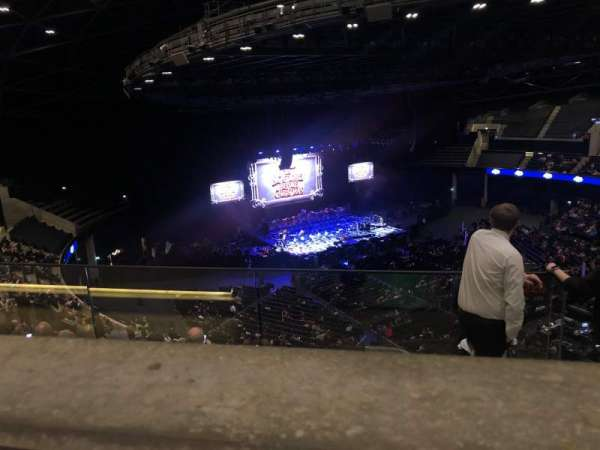 The SSE Hydro, section: 326, rangée: Y, siège: 91