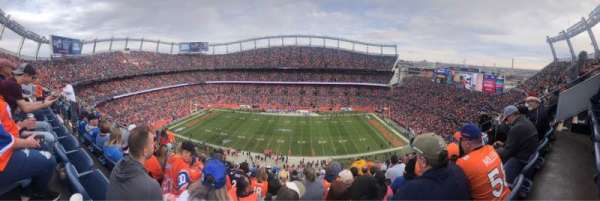 Empower Field at Mile High Stadium, section: 507, rangée: 15, siège: 7