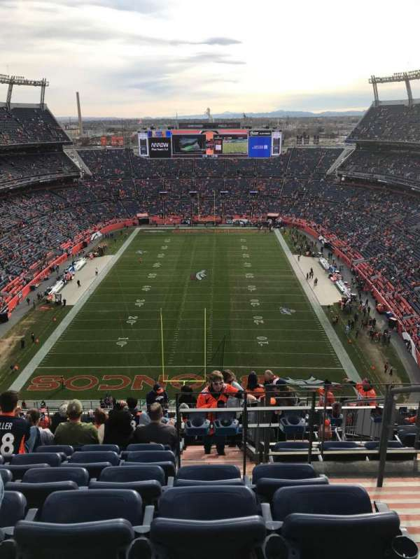 Empower Field at Mile High Stadium, section: 521, rangée: 21, siège: 2