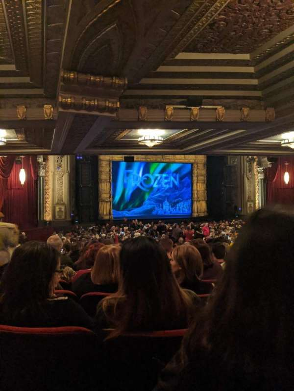 Hollywood Pantages Theatre, section: Orchestra L, rangée: XX, siège: 314