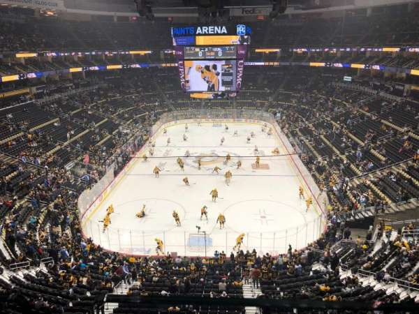 PPG Paints Arena, section: 228, rangée: A, siège: 2
