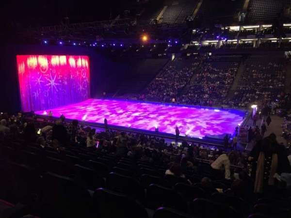 The O2 Arena, section: 103, rangée: Z, siège: 103
