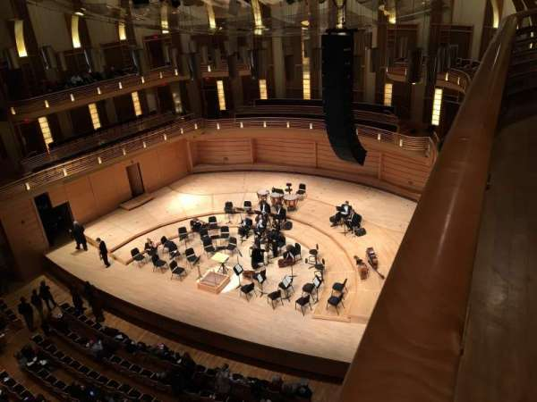 The Music Center at Strathmore, section: Upper Tier right, rangée: Box 3, siège: 5