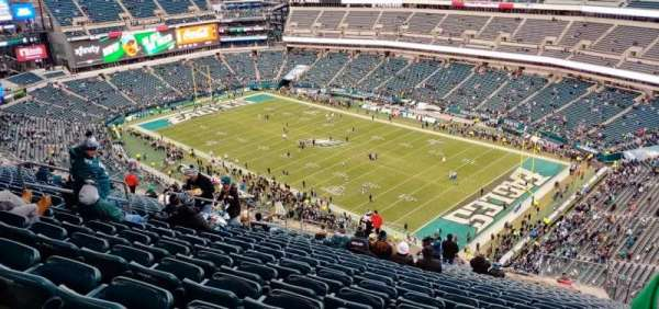 Lincoln Financial Field, section: 207, rangée: 28, siège: 14