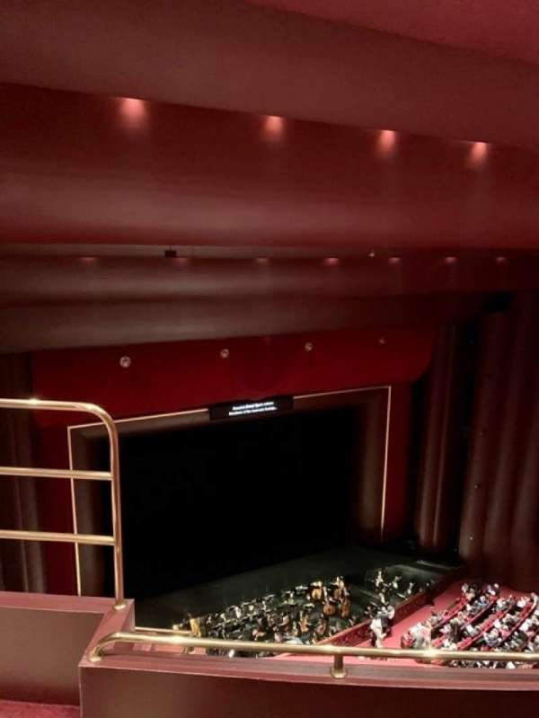 Brown Theater at the Wortham Center, section: K, rangée: G, siège: 14