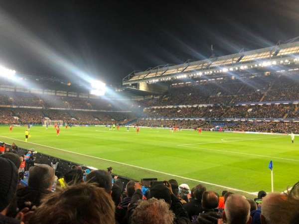 Stamford Bridge, section: Shed End Lower 8, rangée: 11, siège: 205