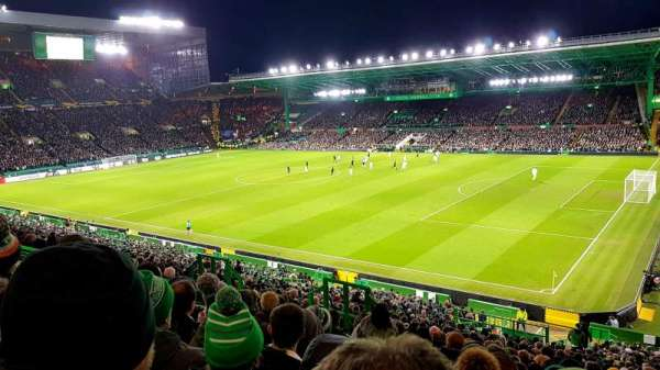 Celtic Park, section: 201, rangée: NN, siège: 6