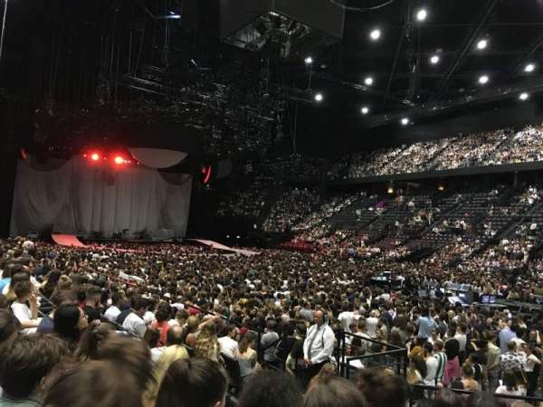AccorHotels Arena, section: Gradin S, rangée: 21, siège: 13