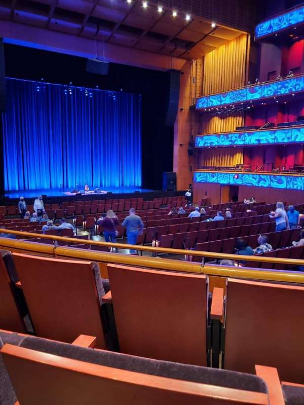 Tobin Center for Performing Arts, section: Left Orchestra, rangée: YY, siège: 6
