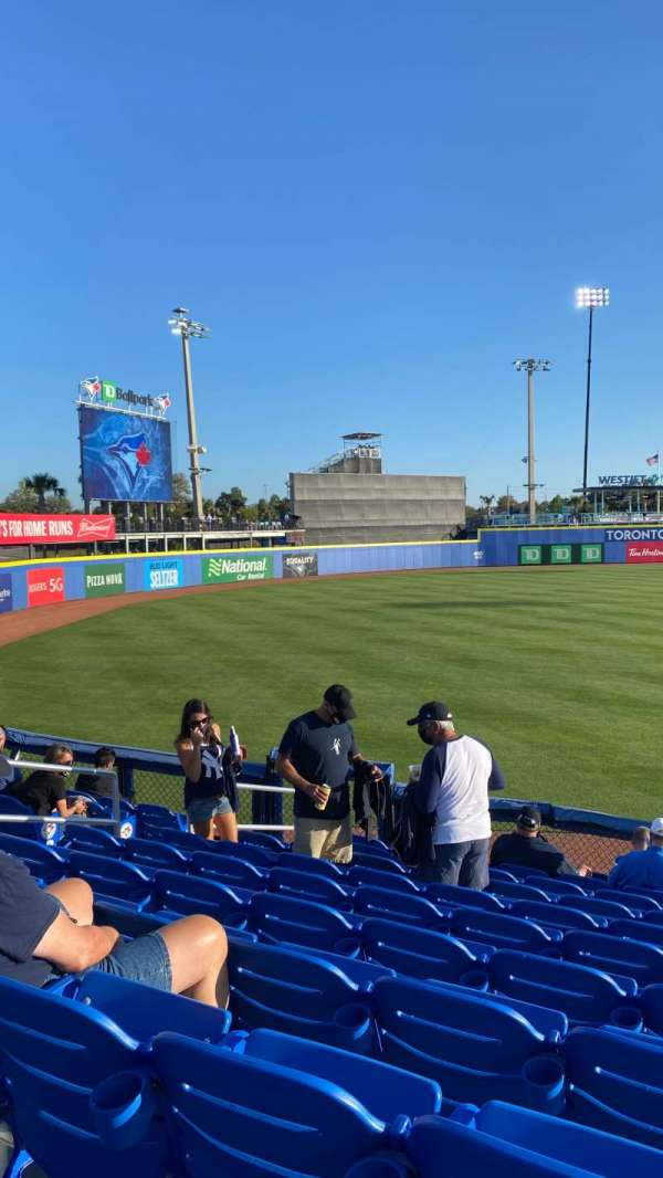 TD Ballpark, section: 115, rangée: 12, siège: 10