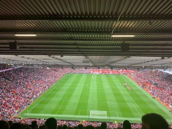 Old Trafford, section: W3103, rangée: 35