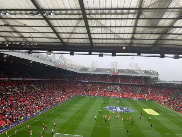 Old Trafford, section: W3103, rangée: 3