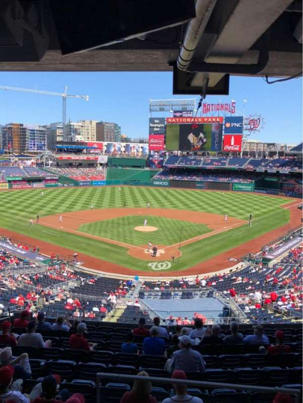 Nationals Park, section: LINC 19, rangée: SUITE, siège: 2