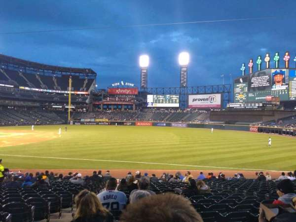 Guaranteed Rate Field, section: 116, rangée: 20, siège: 7