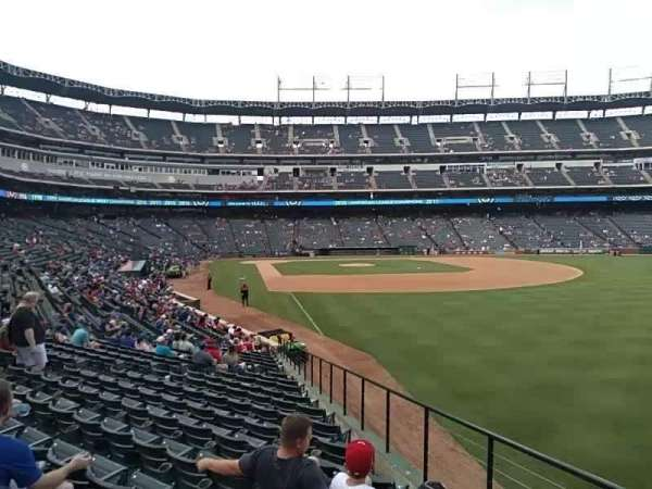 Globe Life Park in Arlington, section: 40, rangée: 19, siège: 19