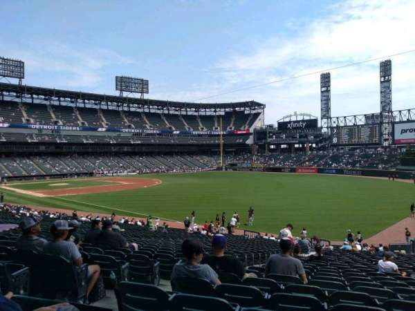 Guaranteed Rate Field, section: 110, rangée: 34, siège: 22