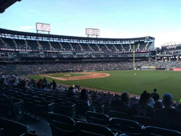 Guaranteed Rate Field, section: 111, rangée: 35, siège: 7