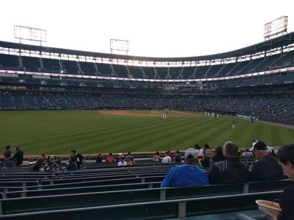 Guaranteed Rate Field, section: 161, rangée: 20, siège: 12