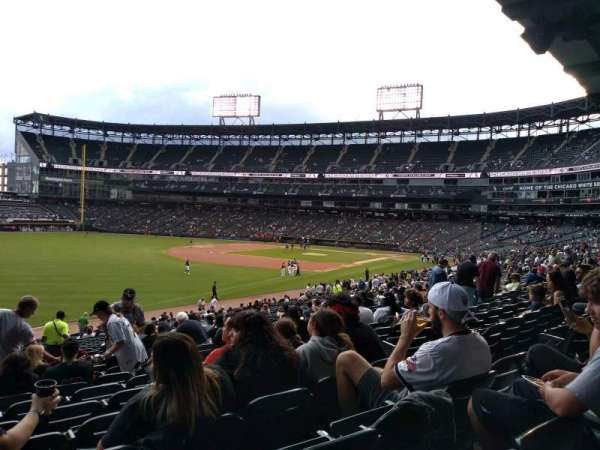 Guaranteed Rate Field, section: 152, rangée: 34, siège: 8